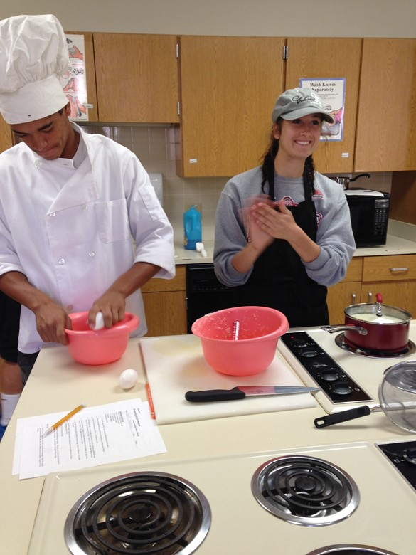 The Family and Consumer Science class is cooking up something yummy!