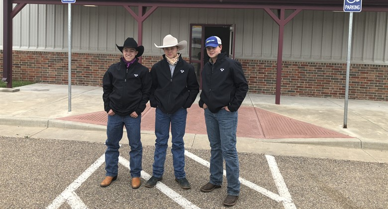Students earned their Heavy Equipment Certification through the Texas Cattle feeders association and Warren CAT.