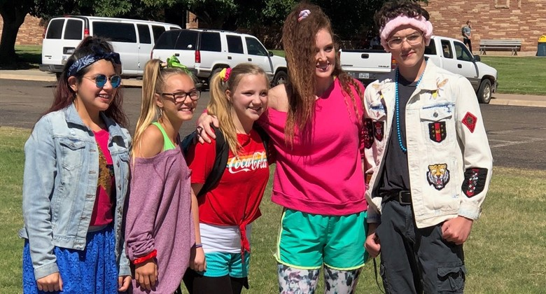 BMS Students show their spirit during Homecoming Week.